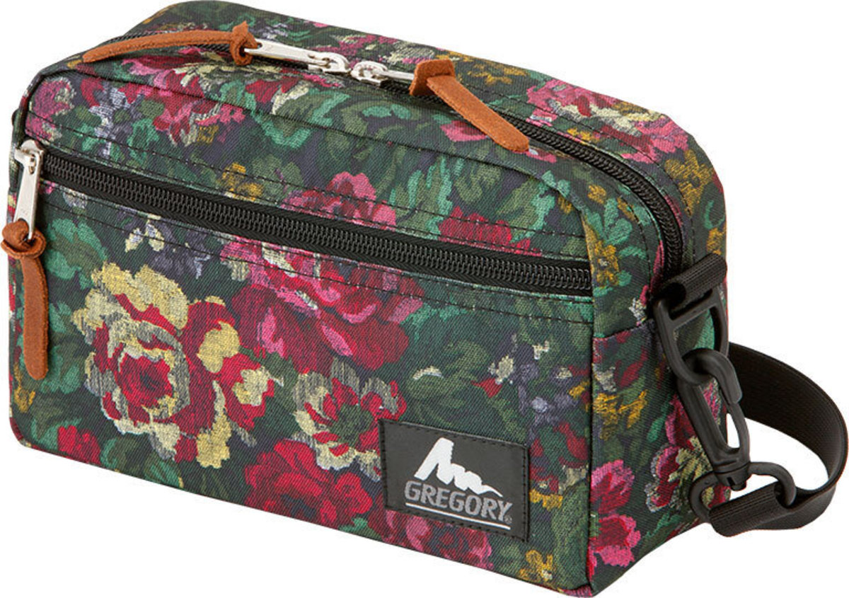 PADDED SHOULDER POUCH - M Size 0511 GARDEN TAPESTRY