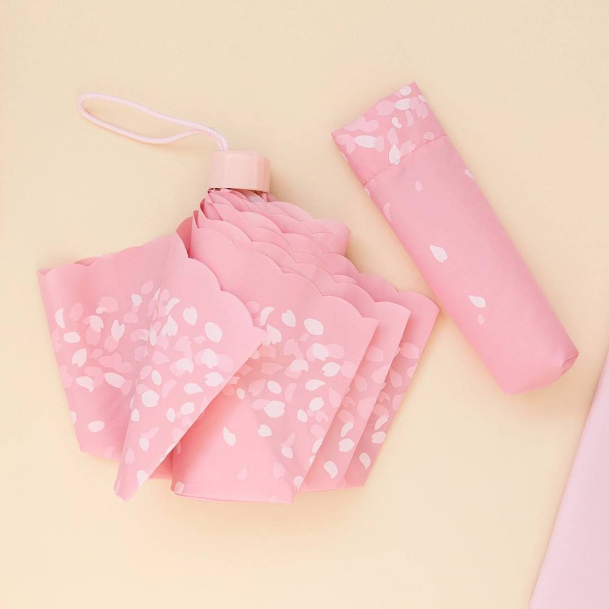 Cherry Blossom Foldable Umbrella 櫻花摺疊雨傘