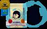 Japanese Keana Rice Mask(1包10片) 藍色