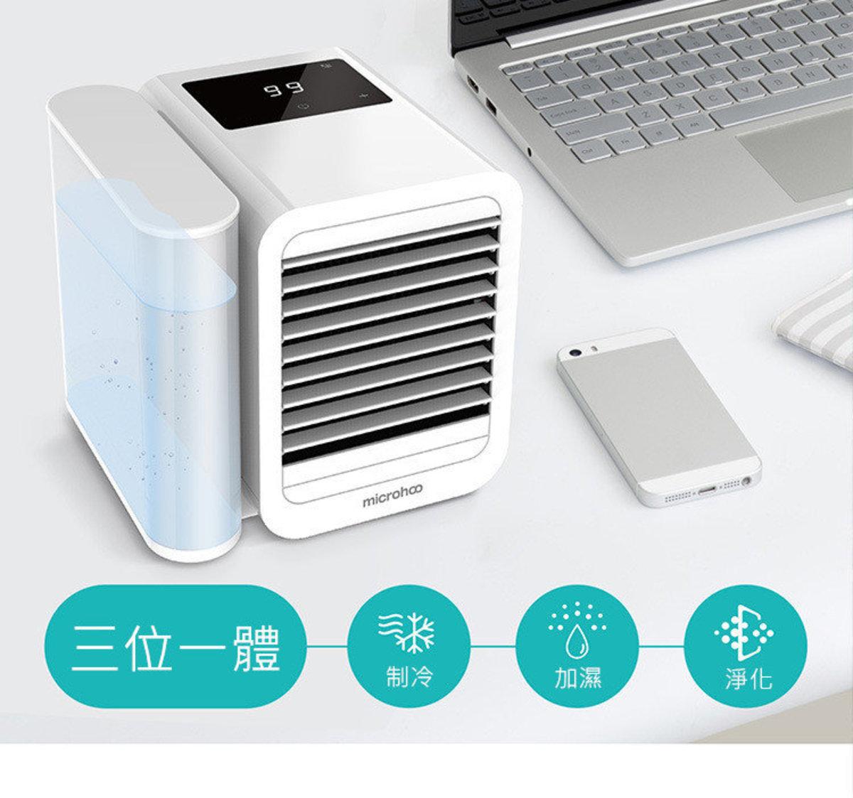 觸控式三合一淨化加濕製冷超強冷風冷氣機 (99檔L-71)