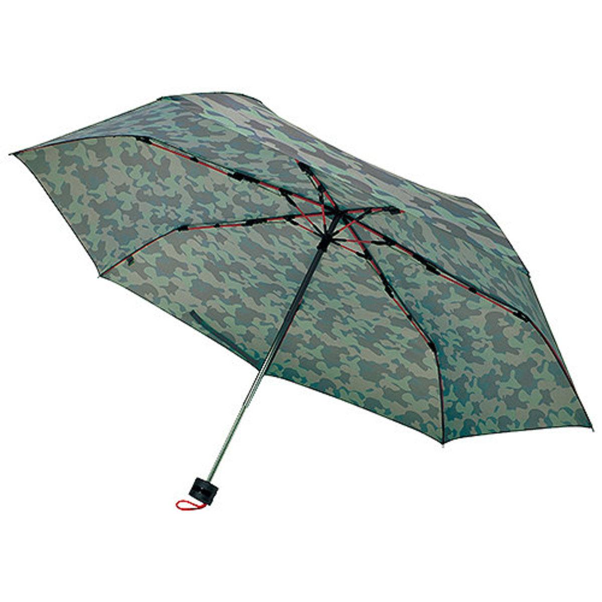 高強度折疊傘迷你 卡其色 (中國製造)