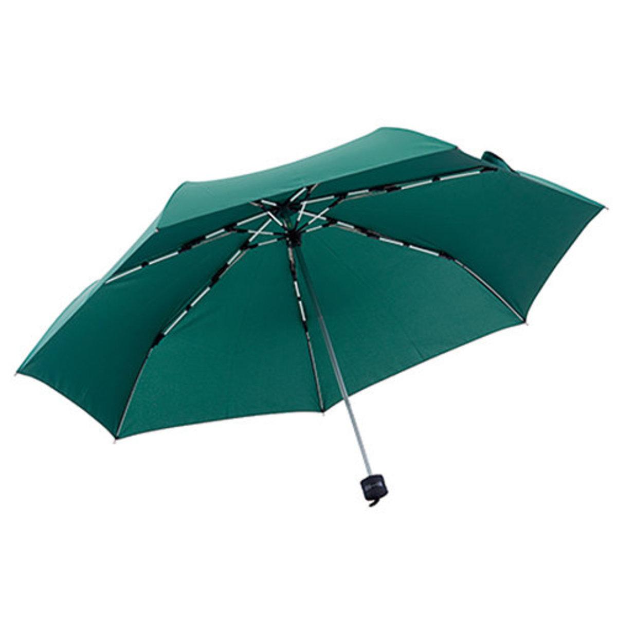 High Strength Folding Umbrella Mini Dark Green (Made in China)