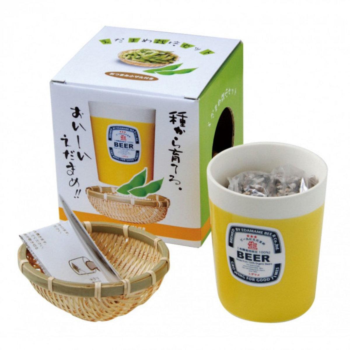 Edamame 盆栽 - 枝豆