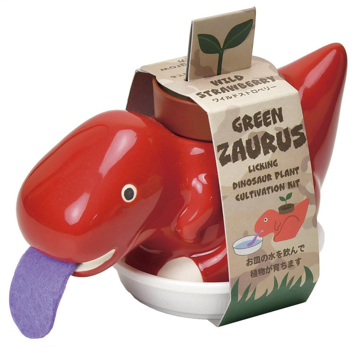 GD-893-03 Green ZAURUS - Red (Wild Strawberry)