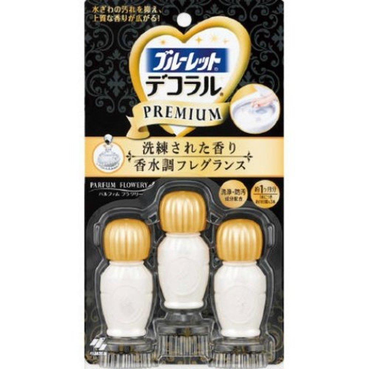 Bluelet Decoral Premium Parfum Flowery 23 g (Made in Japan)