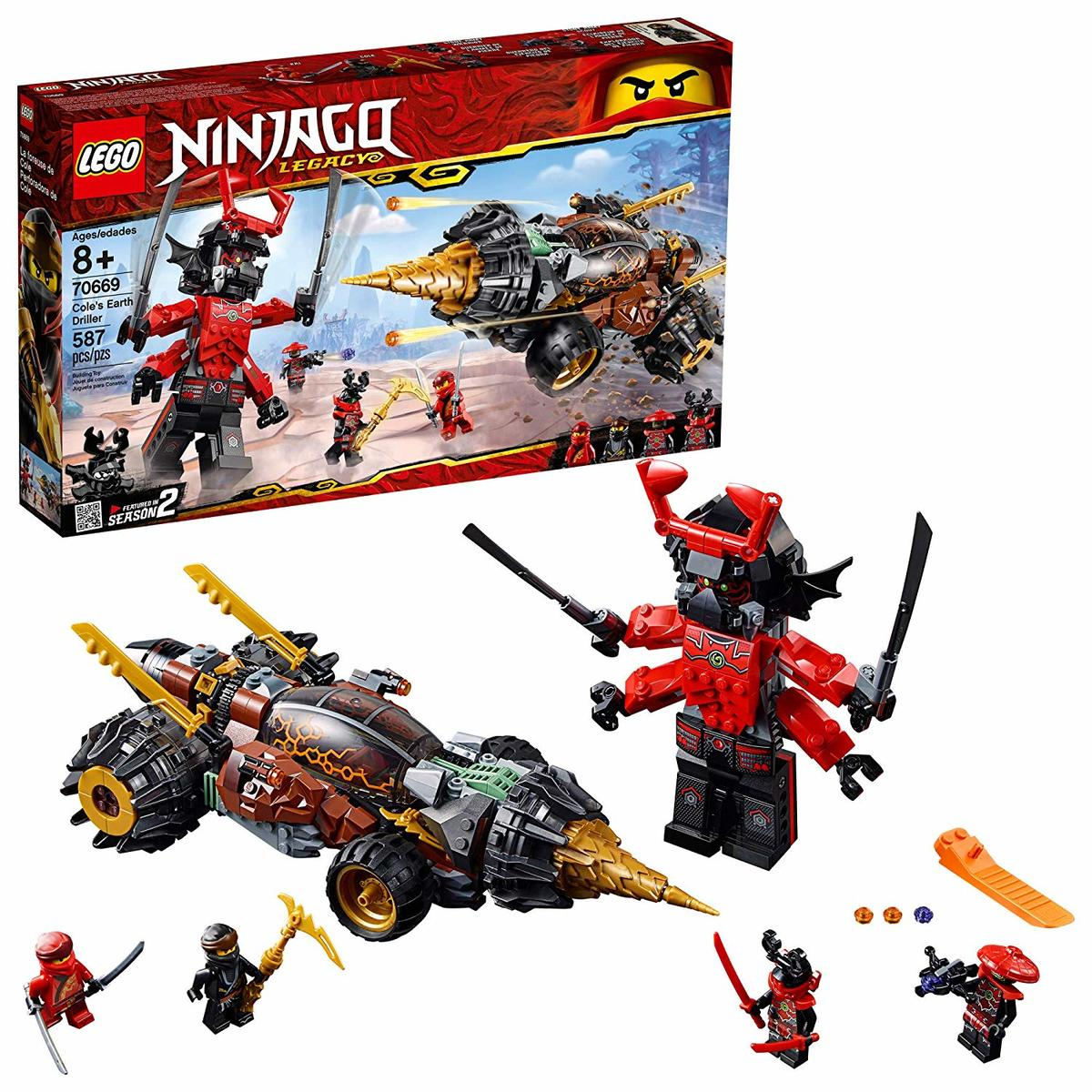 70669 Ninjago Cole's Earth Driller