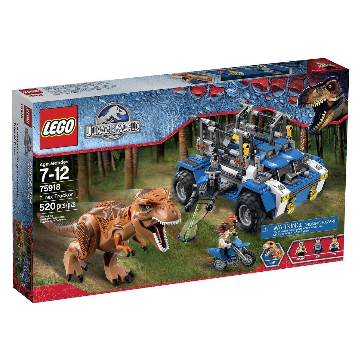 Jurassic World 75918 T. Rex Tracker