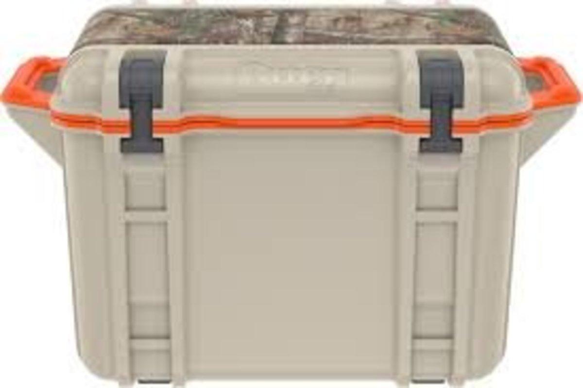 Venture 45 Cooler 防水防撞隨行冰箱 - Black Trail (Tan/Realtree Camo/Orange)