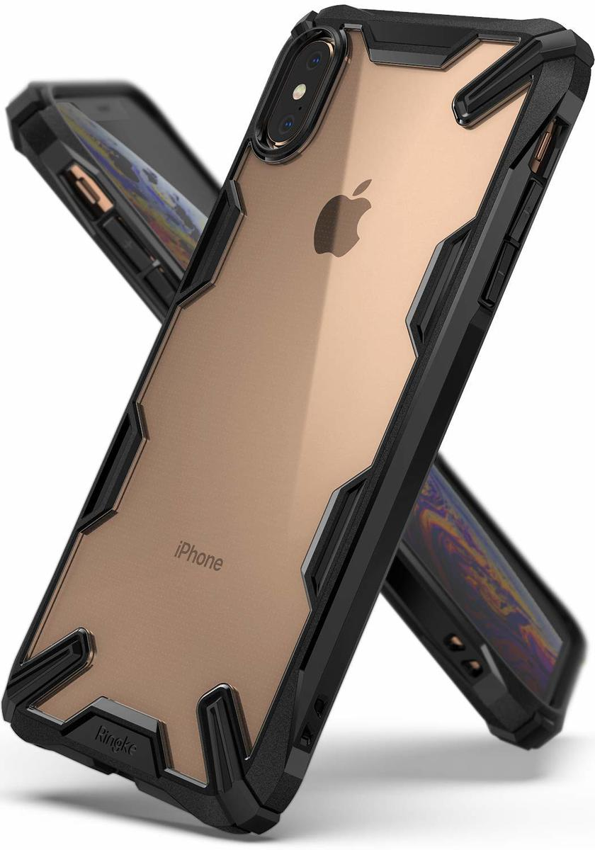 Fusion X For iPhone XS Max 手機殼 黑色