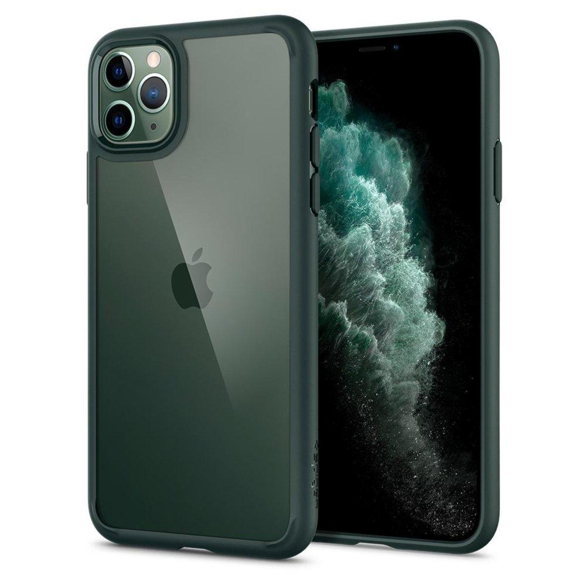 iPhone 11 Pro 保護殼 Ultra Hybrid - 午夜綠色