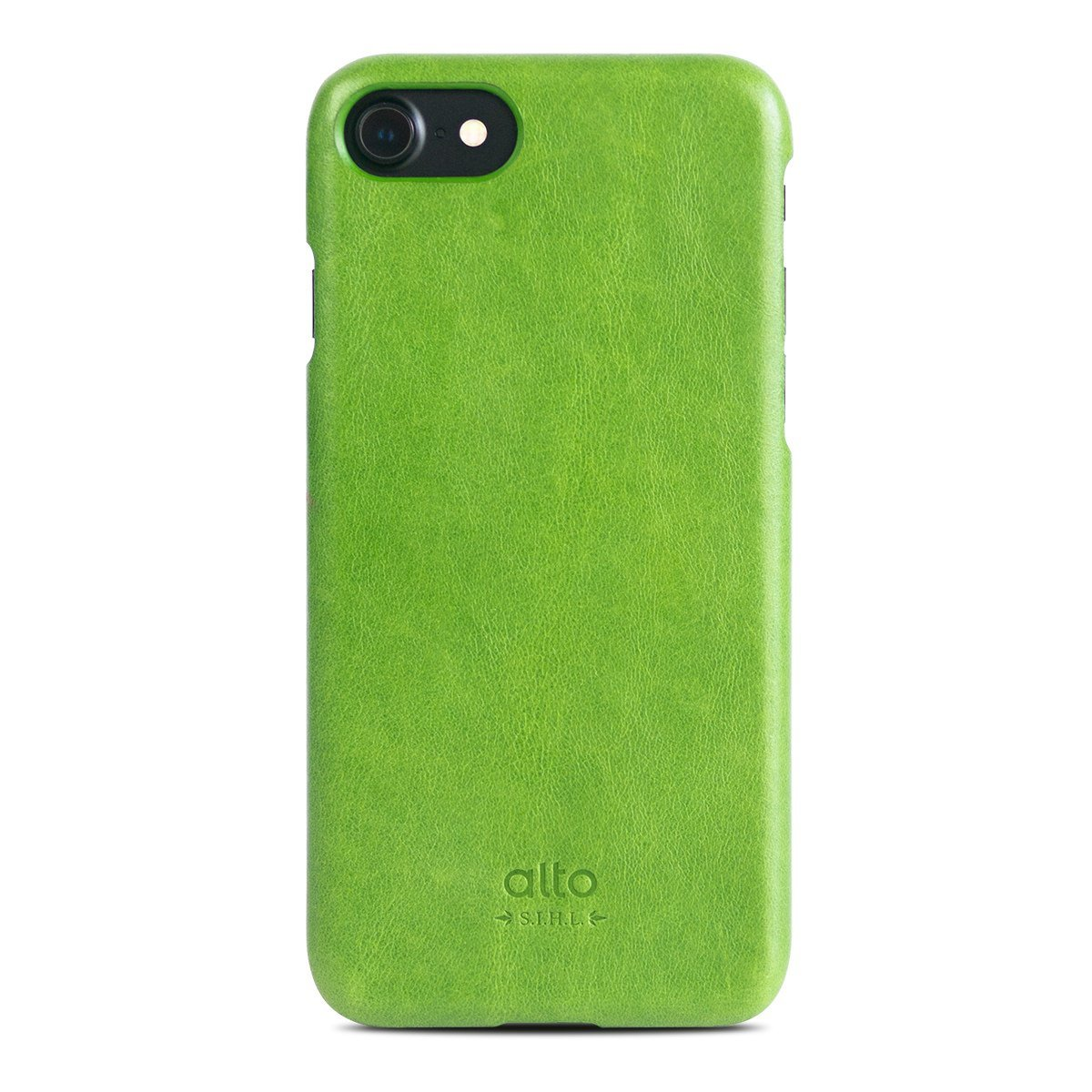 iPhone 8 / 7 皮革保護殼 Original – 萊姆綠