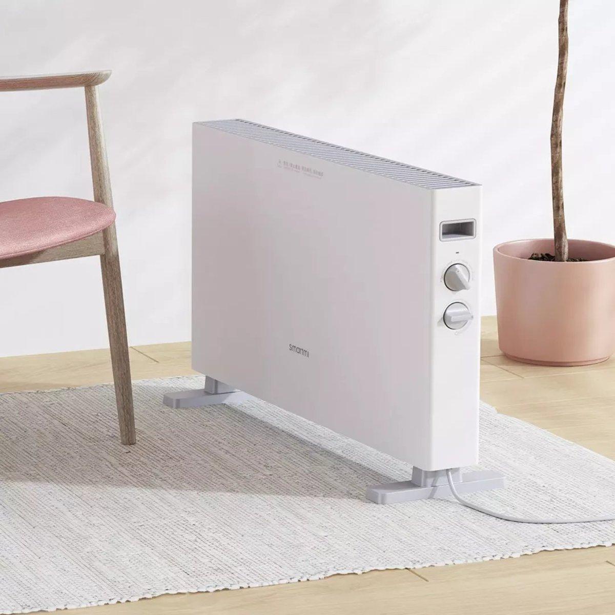 Electric Heater 1S DNQ04ZM (1 Year Warranty) - White