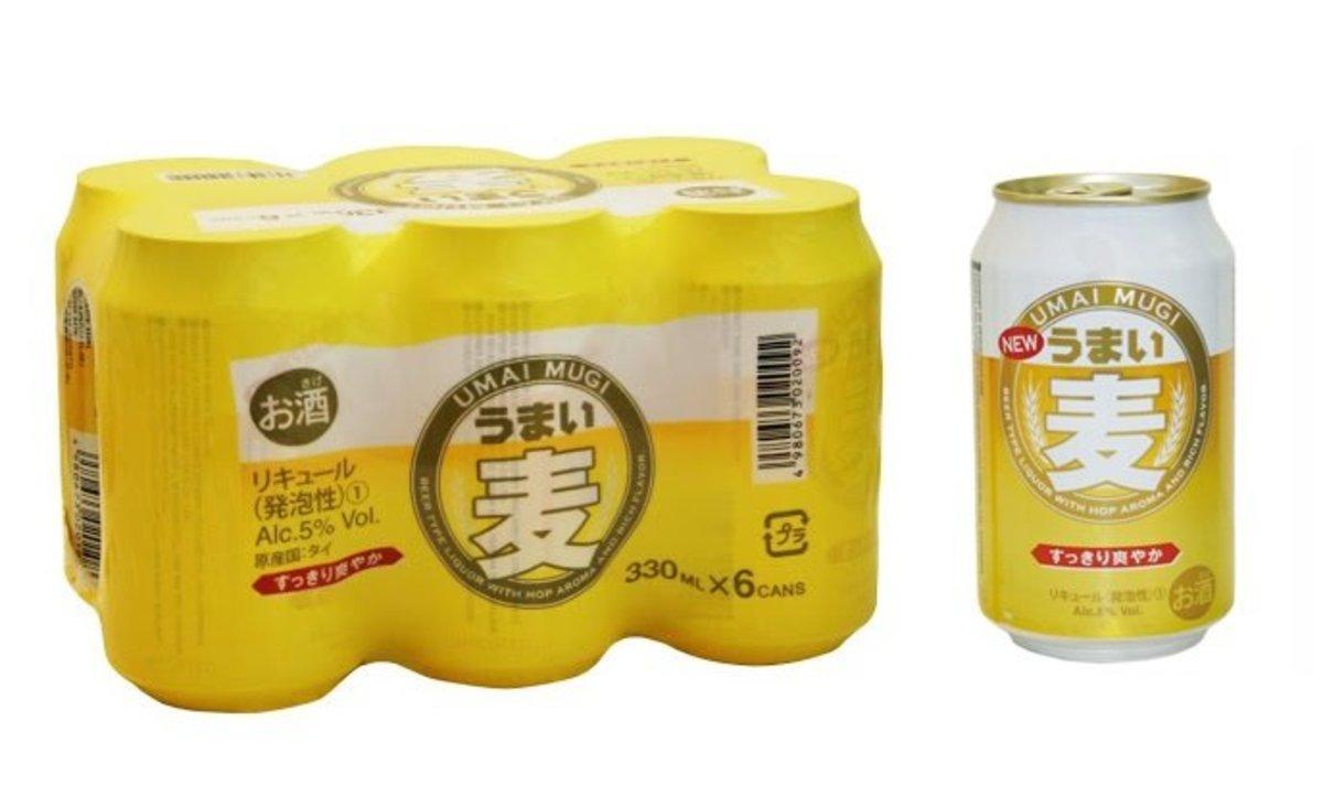 日本麥啤酒 容易入口 麥味香滑 - 6罐裝