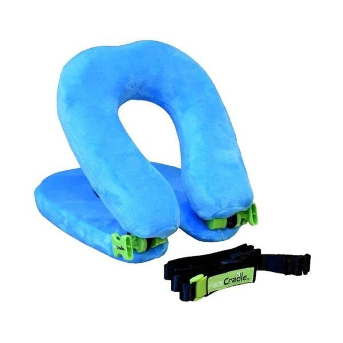 Wanderlust - 多功能旅行頸枕 輕巧型 - 藍色