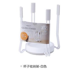 RISU 日式廚房檯面收納架 (杯子收纳架-白色)