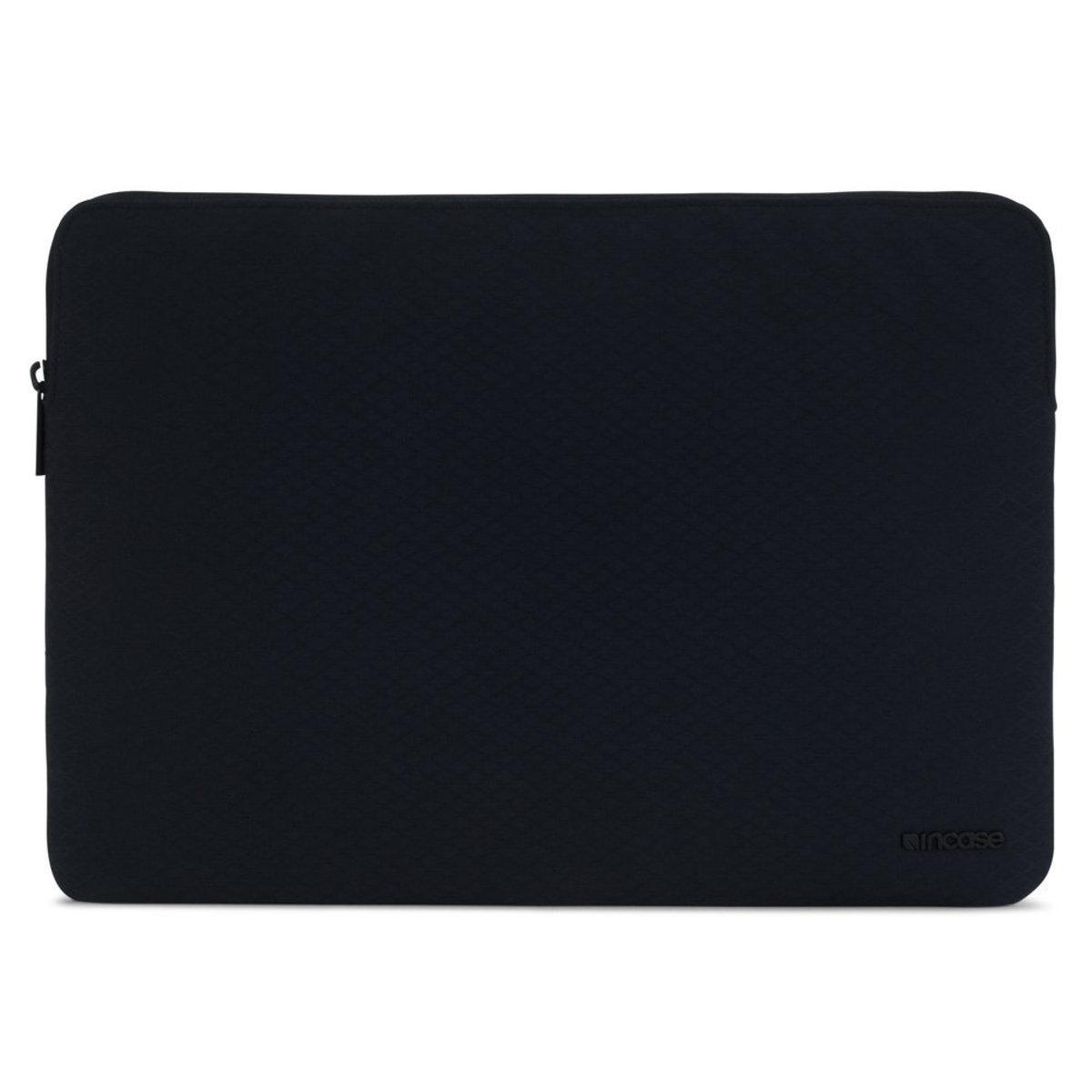 """高韌度Diamond Ripstop配拉鏈開關,貼身全方位保護套可放15""""Macbook Slim Sleeve- 黑灰"""