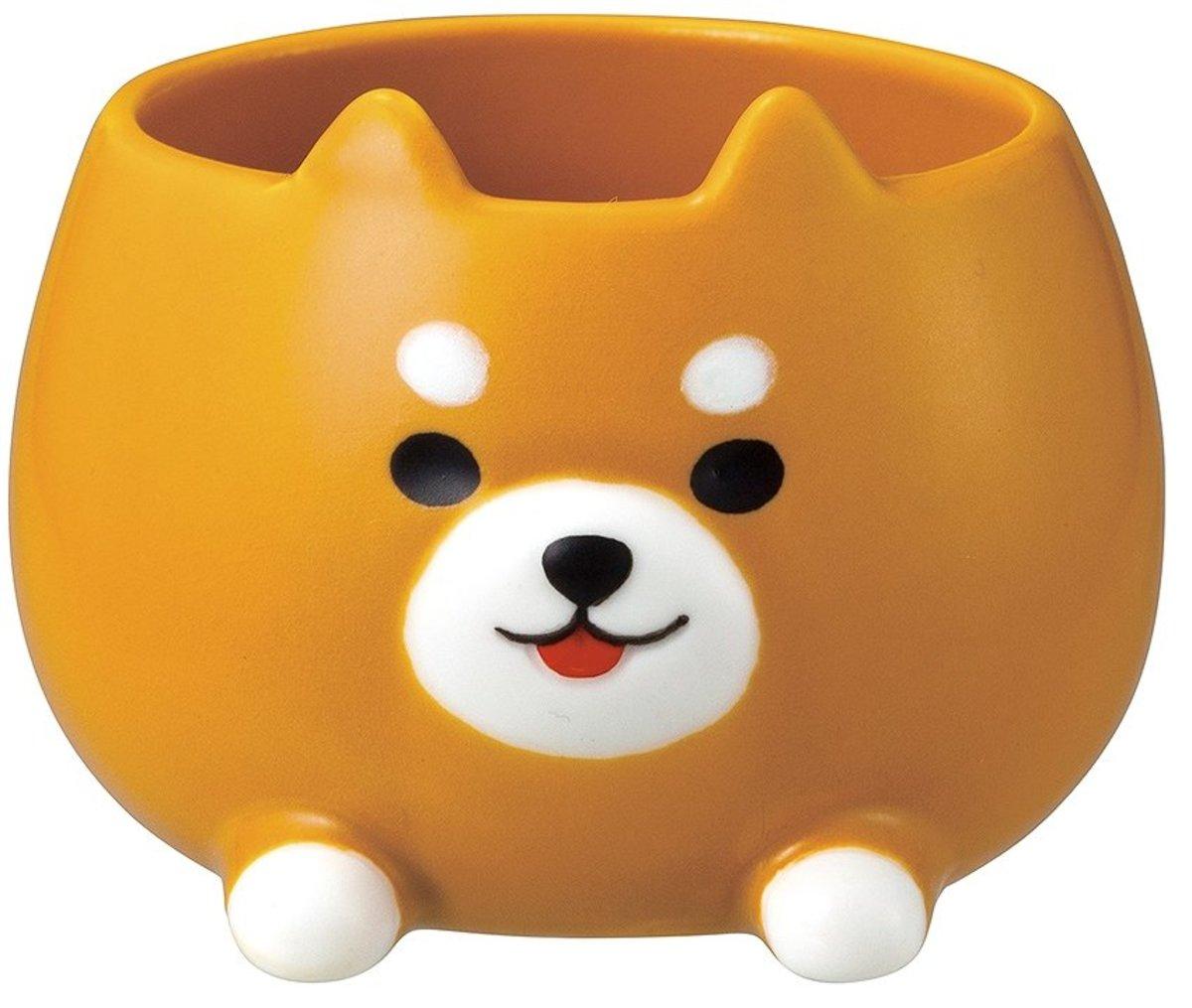 Insect repellent animal cup set Shibiki SK-59206 -  Shiba Inu