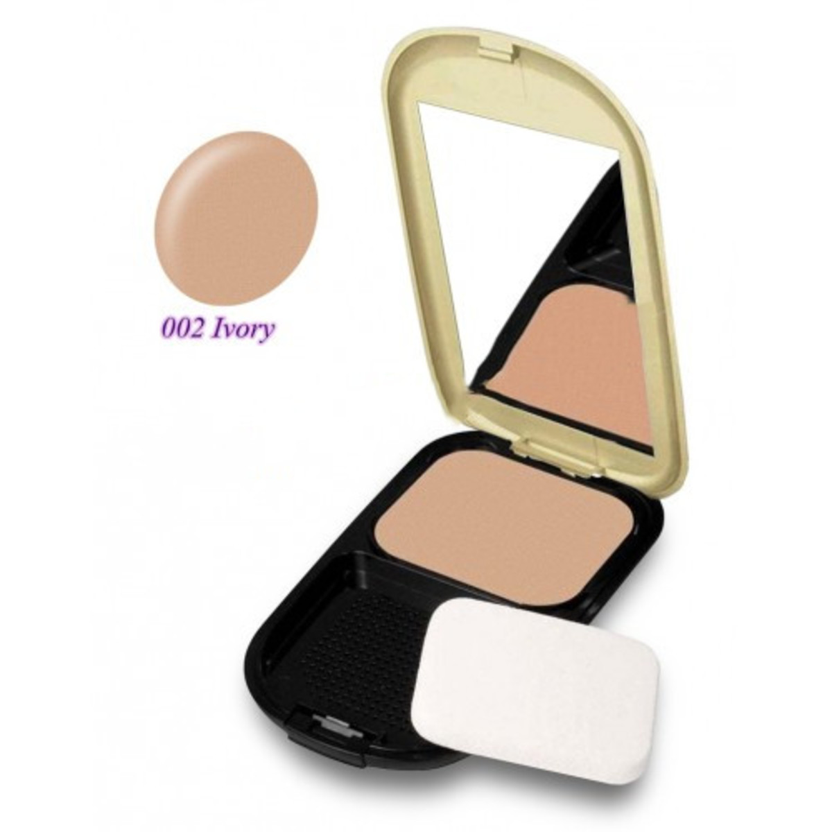 Facefinity Compact Foundation SPF15 (10g) #002 Ivory