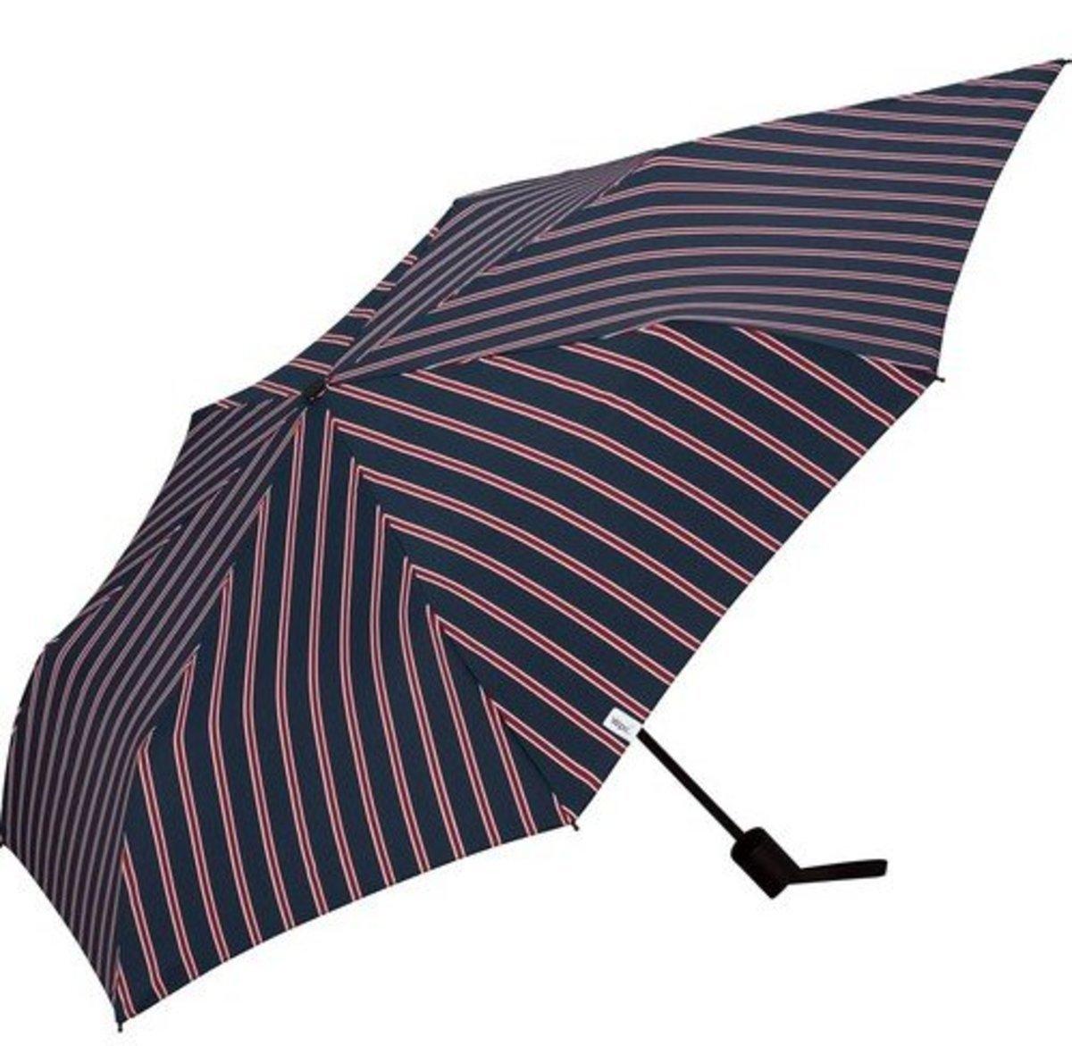 Back Protect Folding Umbrella - School Stripe (MSS-011)