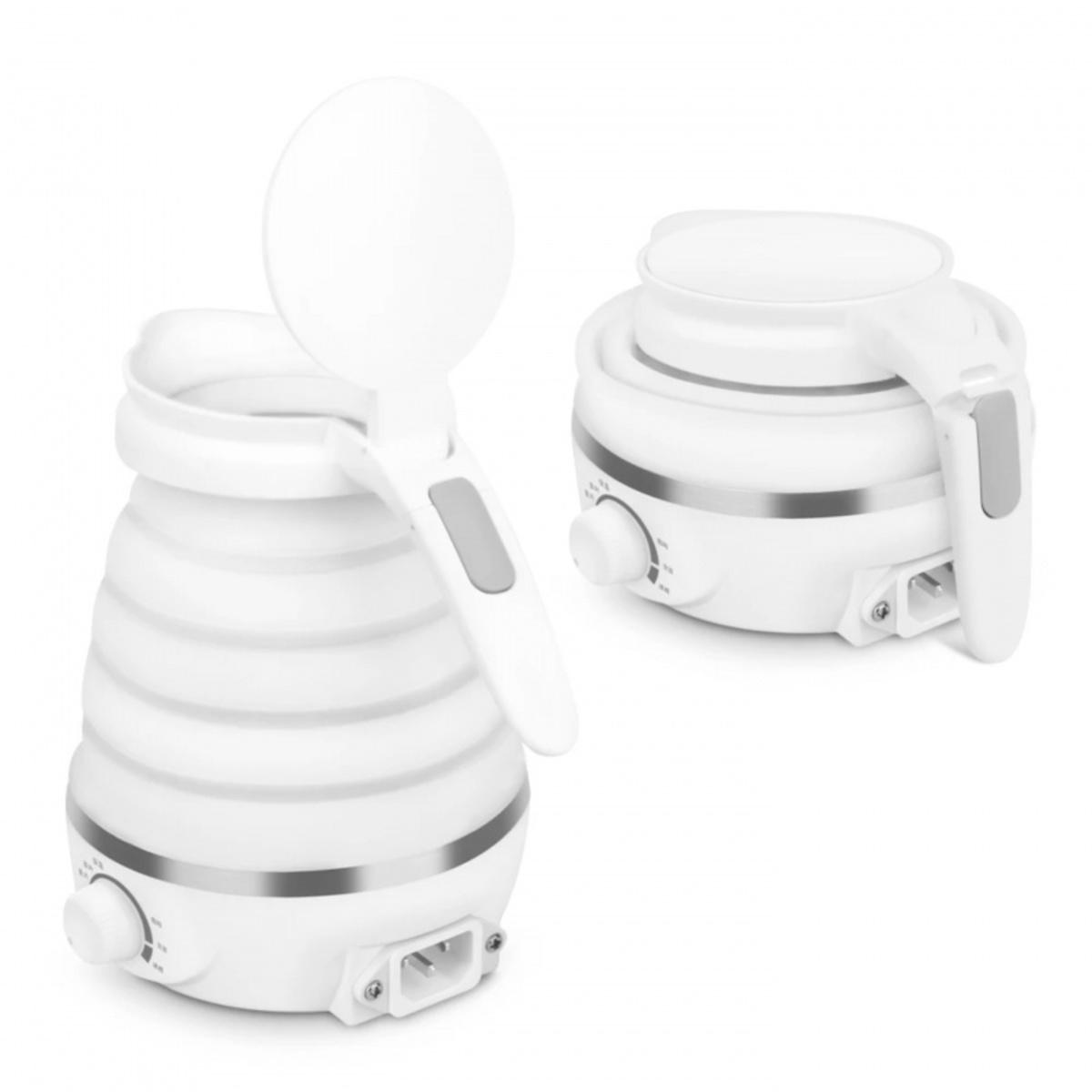 Travel folding electric kettle White