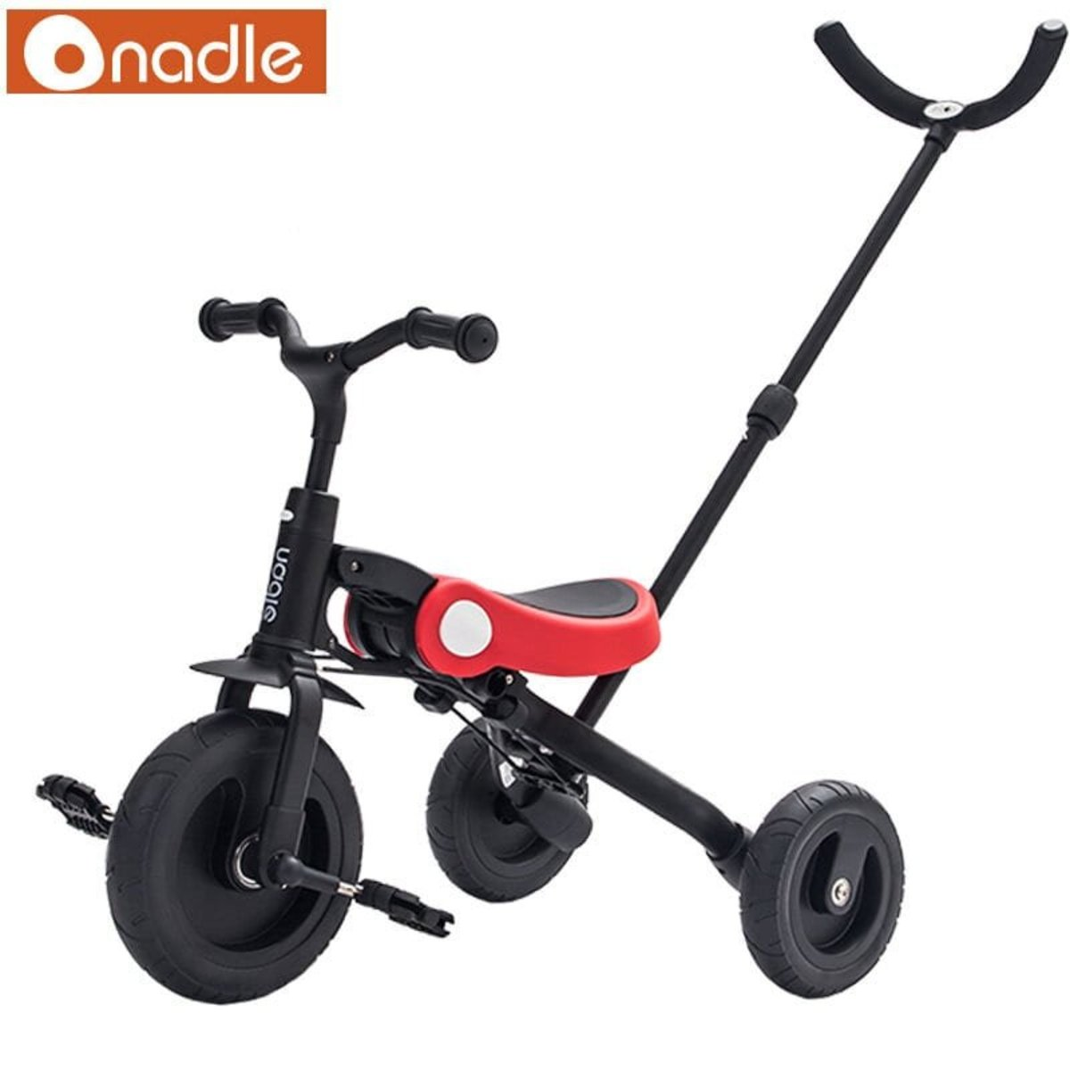 3-in-1 kids folding tricycle - Red