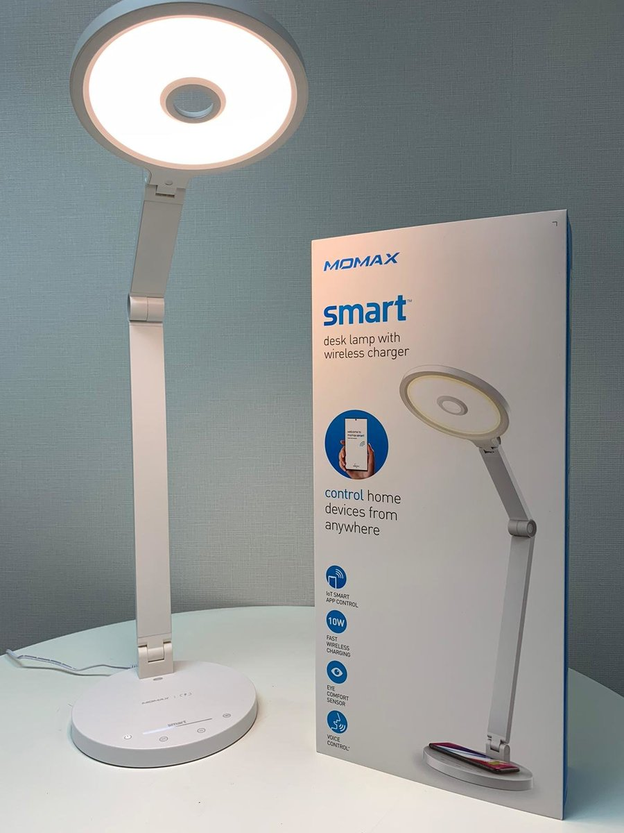 Smart Desk Lamp with Wireless Charger QL8