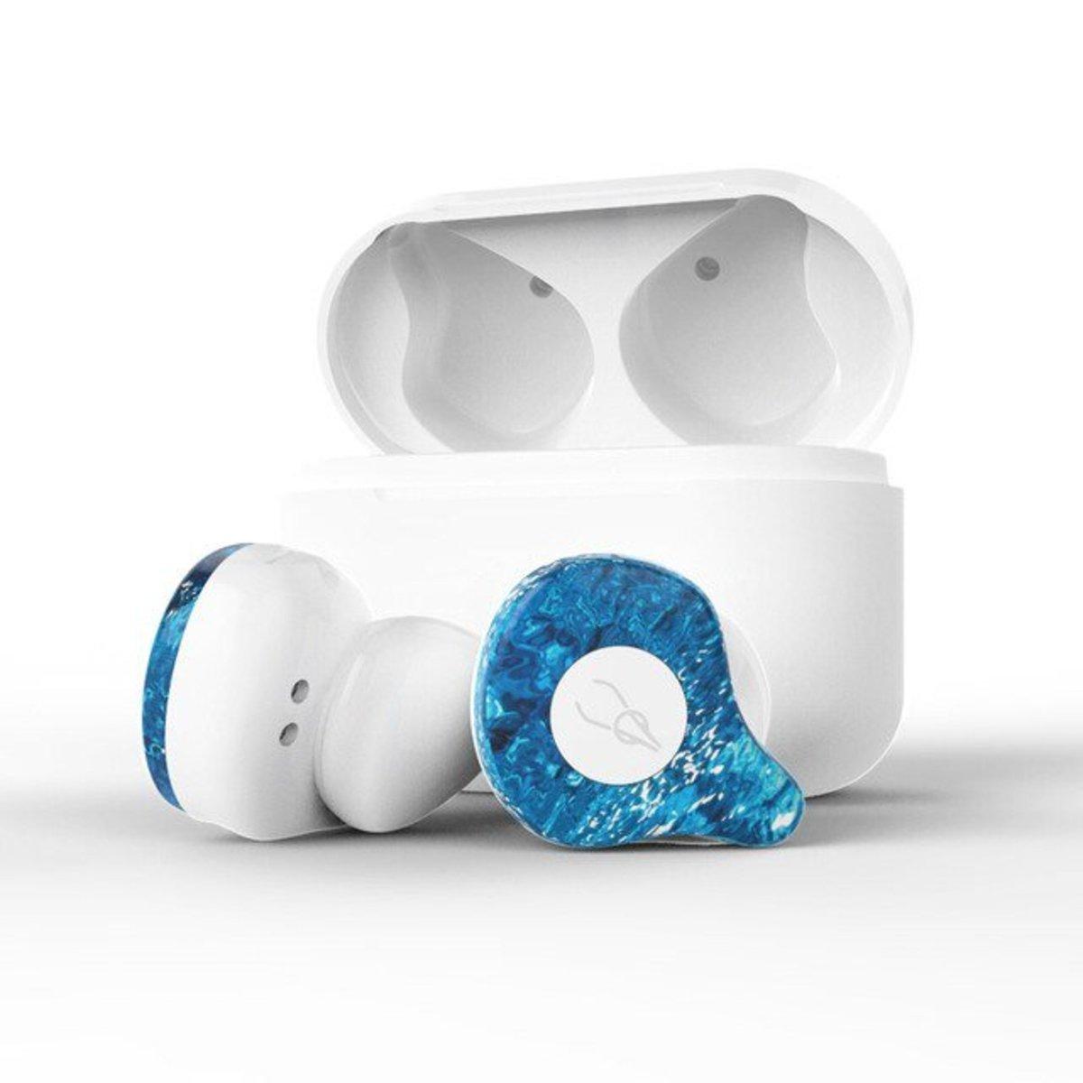 X12 Pro Wireless Bluetooth Earphone Ice Soul