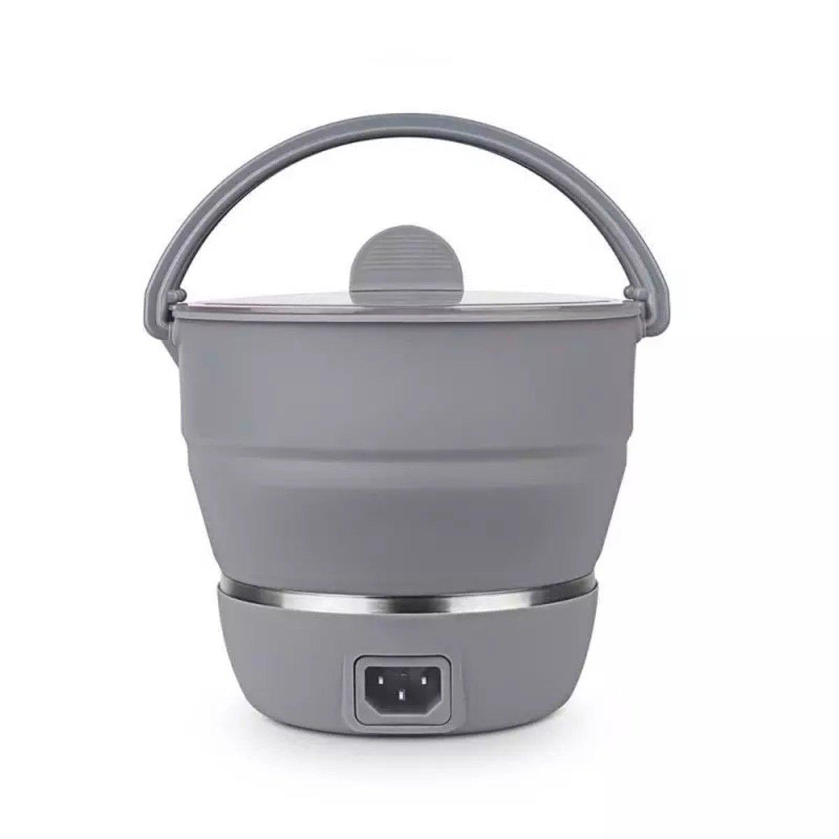 旅行摺疊多功能電煮鍋 灰色 防乾燒保護功能 瑞典品牌