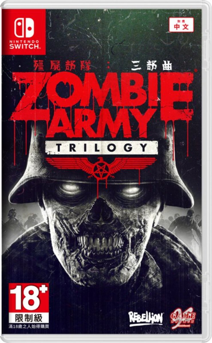 Rebellion NS Zombie Army Trilogy for Nintendo Switch (Chinese and English version)