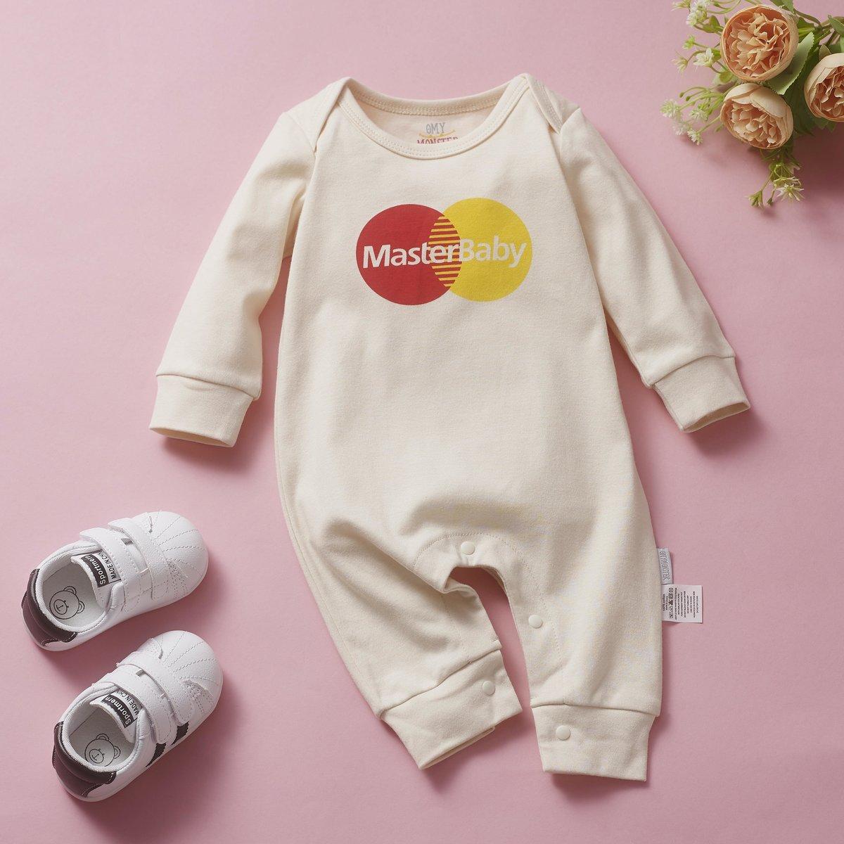 OMYMONSTER - Master Baby Long Sleeve Bodysuit 3-6 month
