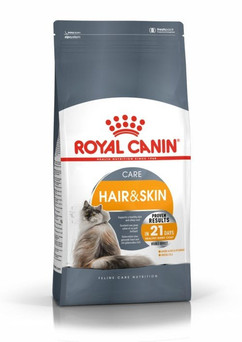 Hair And Skin Care Dry Food 4kg