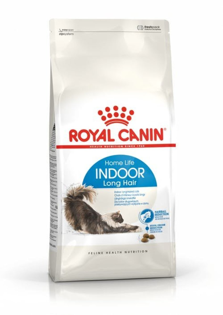 Indoor Long Hair Adult Cat Dry Food 4kg