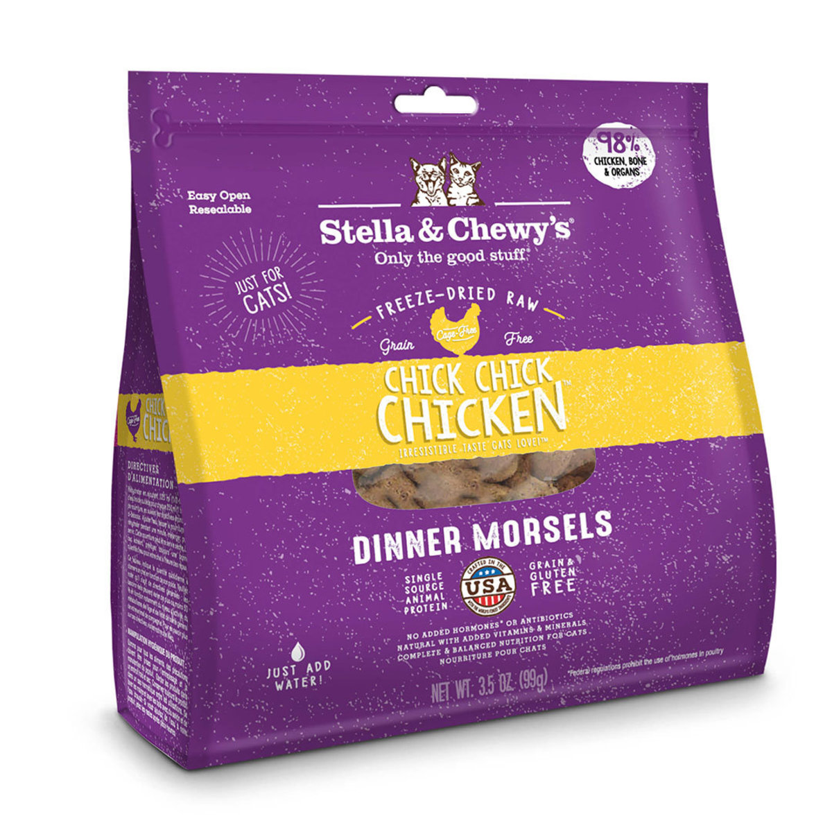 Chick, Chick Chicken Freeze-Dried Raw Dinner Morsels 8oz