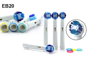 Minka 4件裝 EB20 電動牙刷代用刷頭 (Oral B EB20)