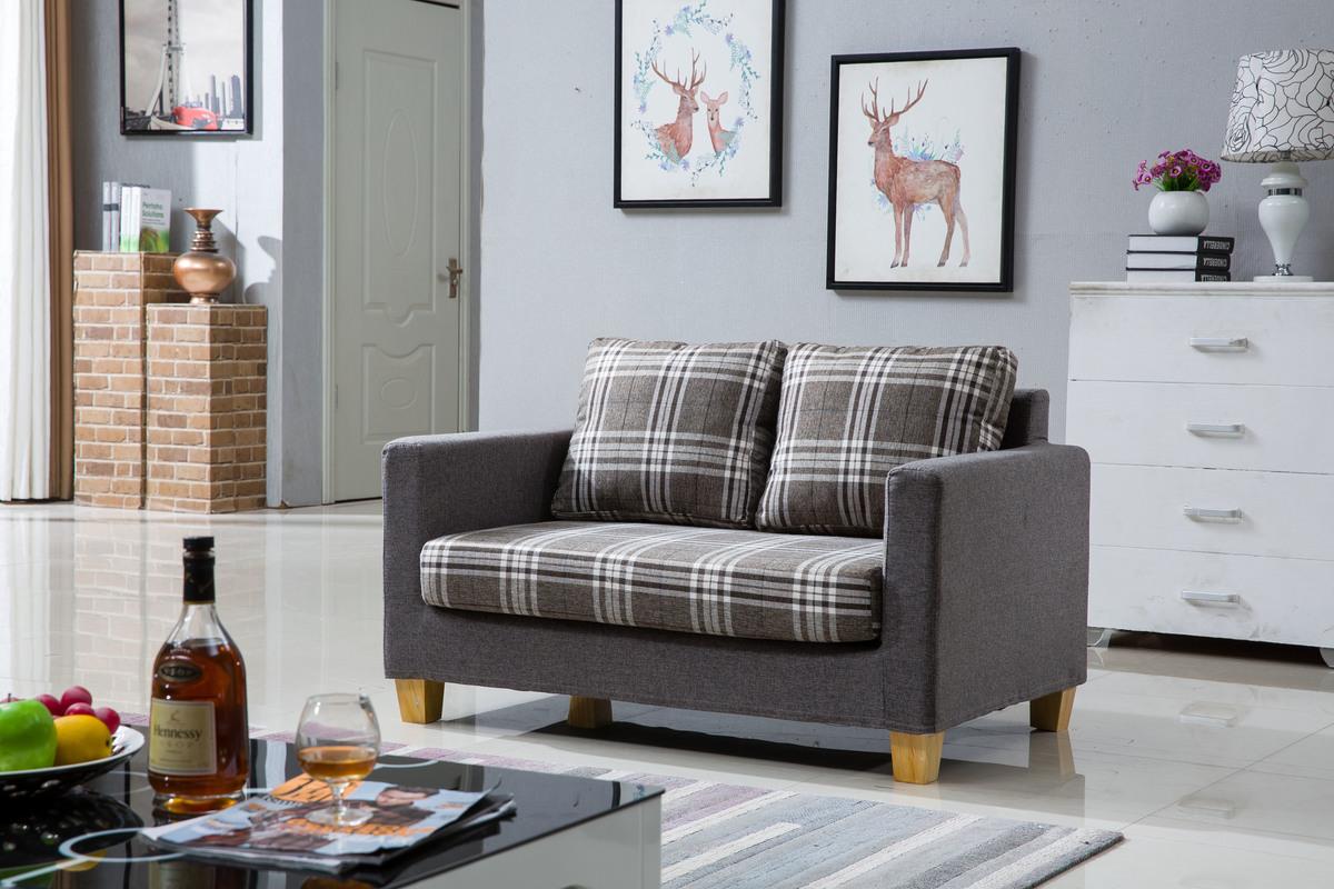 Fabric 2 seat sofa