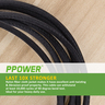 (1M/3FT) 2 PACK PPOWER Micro USB CABLES