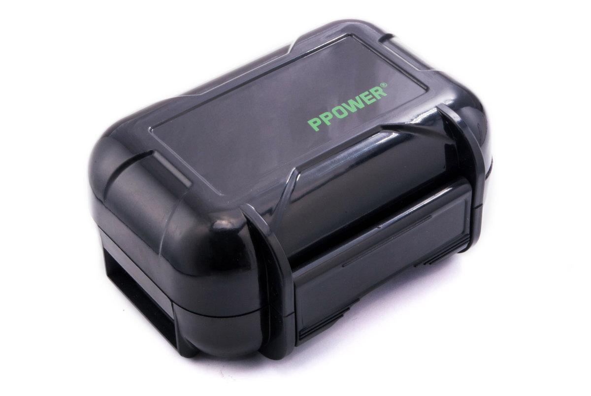 Super hard anti-pressure waterproof headphone protection box (Black)