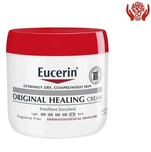 Eucerin Original Healing Cream 454 grams (16 oz) Jar 454 grams x 1 Jar