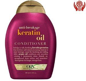 Ogx 修護順髮潤髮乳  防止分叉打結  保濕角蛋白 385 ml (13 Fl Oz) 385 ml x 1
