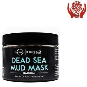 ONLY Natural 死海泥面膜,適用於面部和身體,500 克(18 盎司) 500 克 x 1 罐