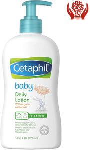 舒特膚 Cetaphil Baby 嬰兒潤膚露 (有機金盞花) 每天使用 399 ml (13.5 Fl. Oz) 399 ml x 1