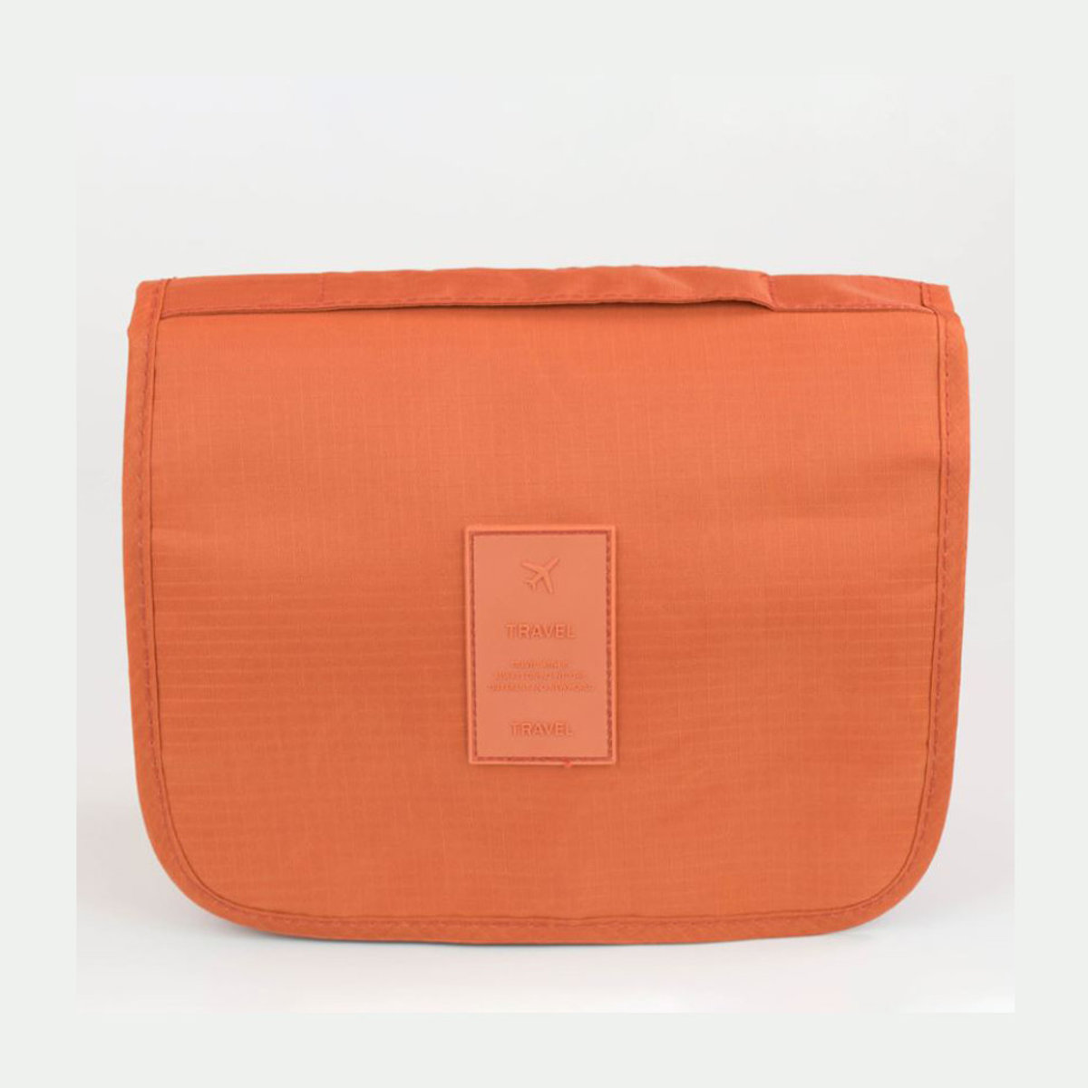 旅行懸掛折疊式旅行收納包洗漱包化妝包 橙色