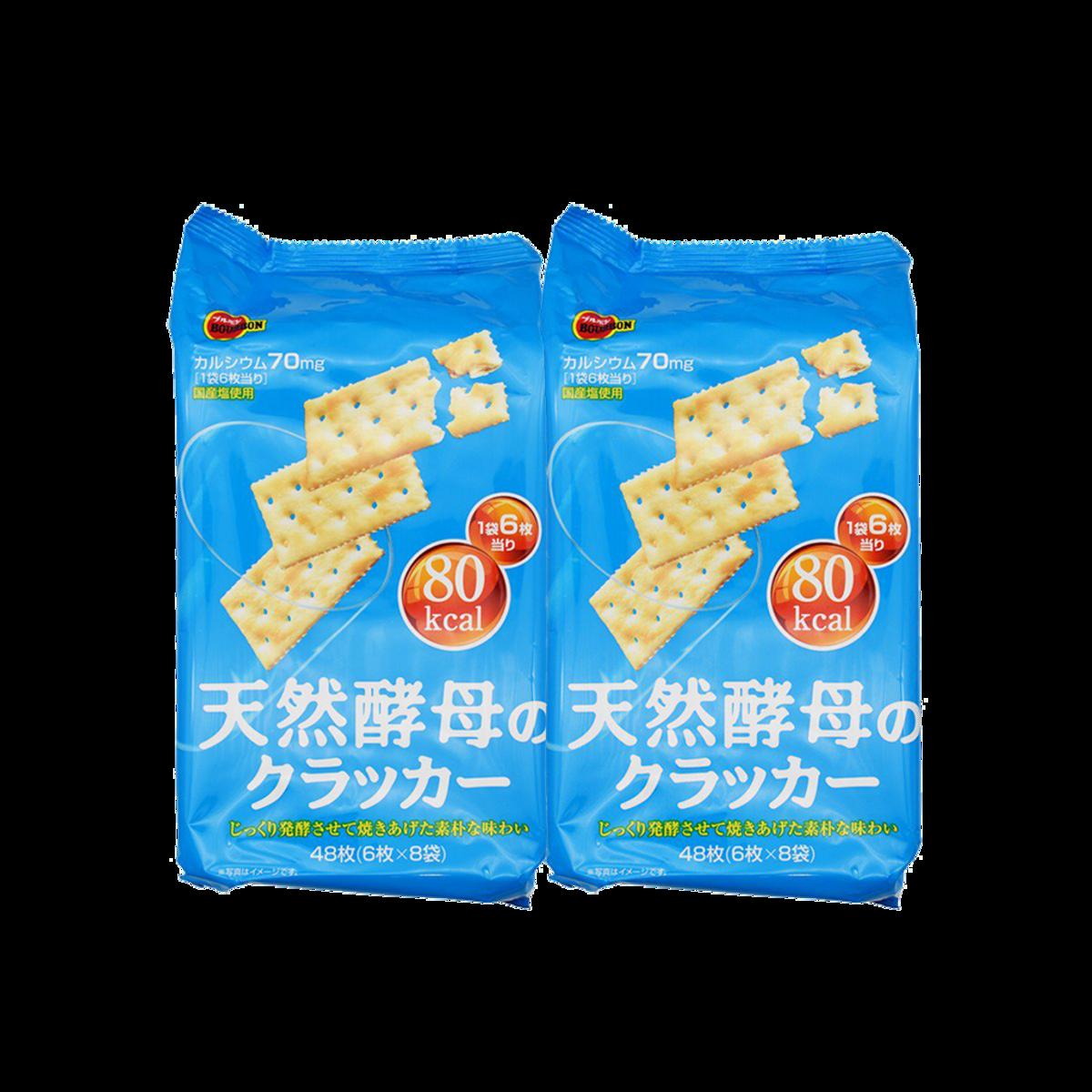 天然酵母梳打餅48枚 x 2(賞味期限: 年/月/日 2020.04.25)