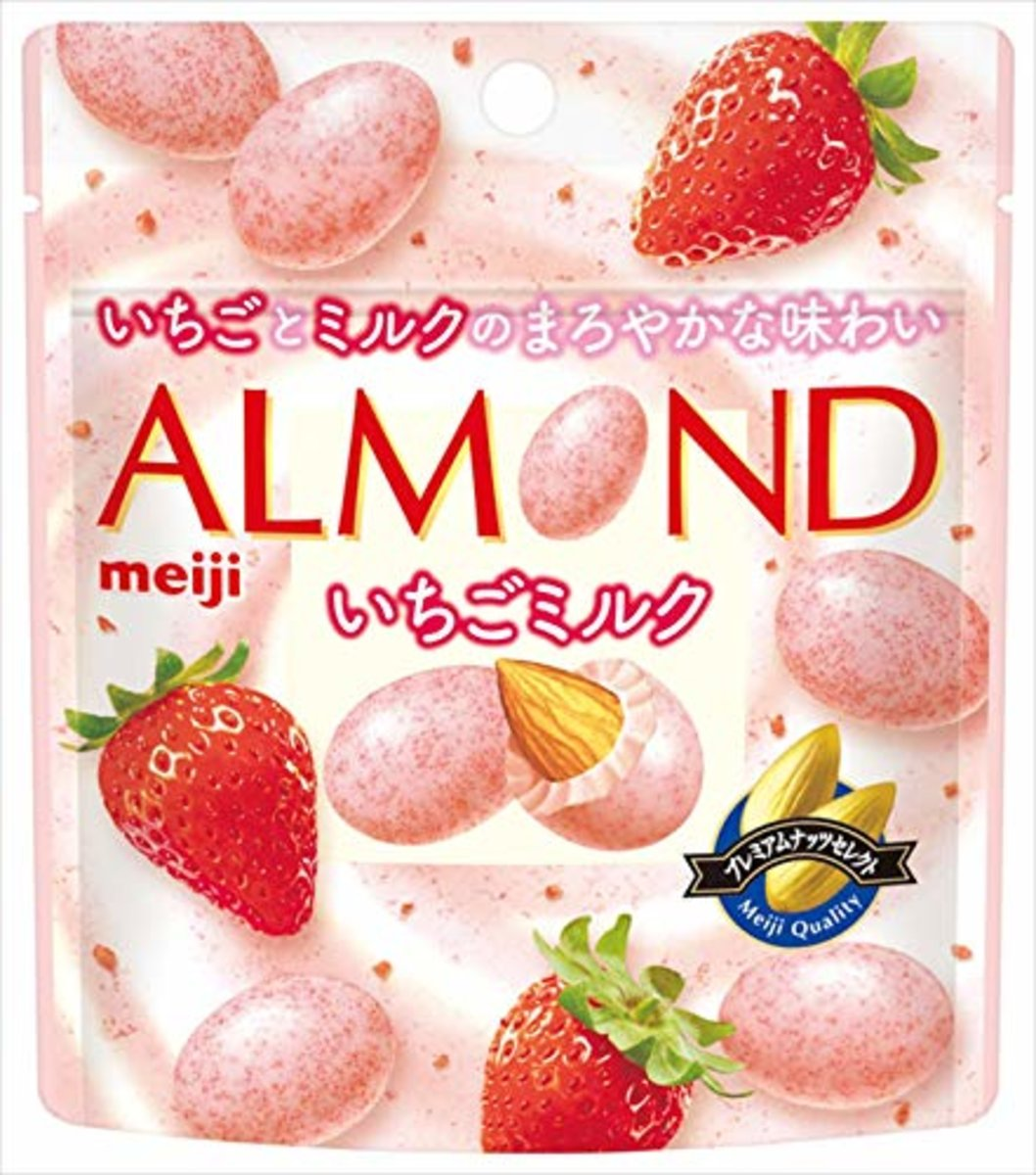 Almond chocolate strawberry milk bag 47g