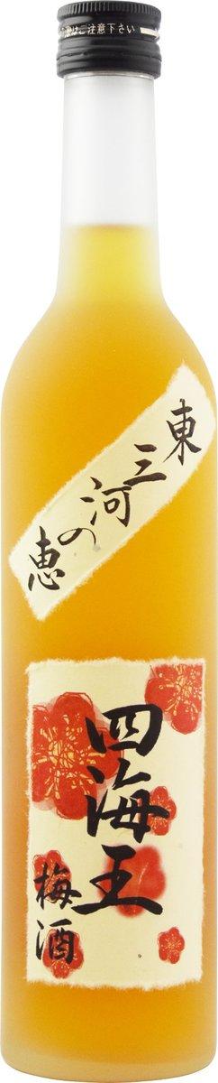 HIGASHIMIKAWA-NO-MEGUMI SHIKAIO PLUM LIQUOR BOTTLE 500ML