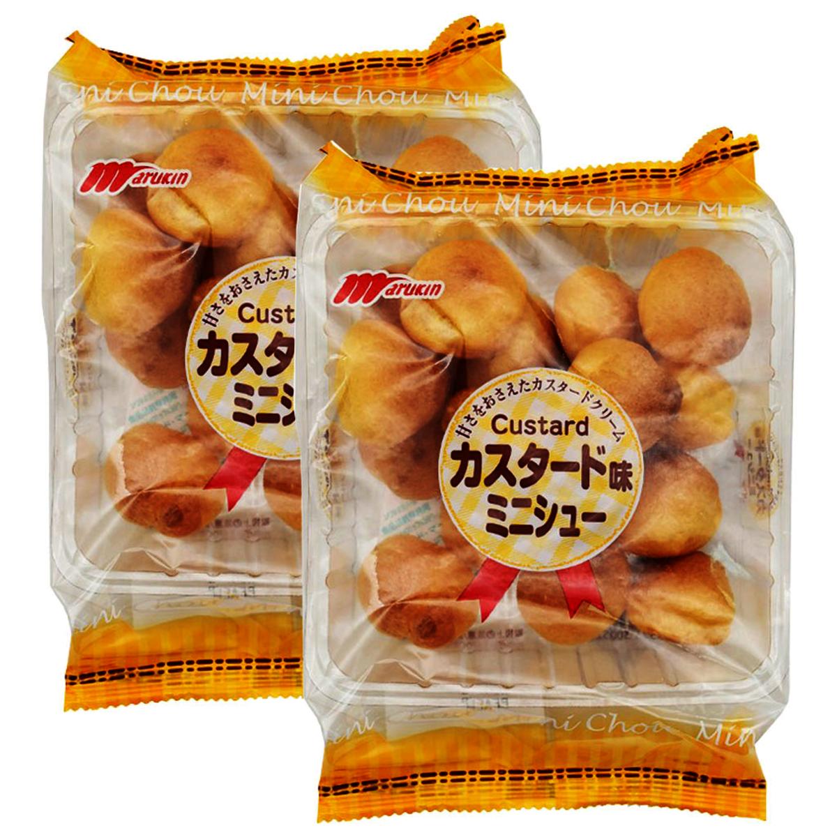 丸金蛋黃醬泡芙63g x 2