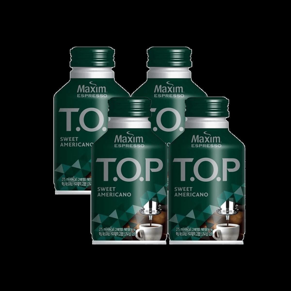 麥馨Top 香甜美式咖啡 275ml x 4