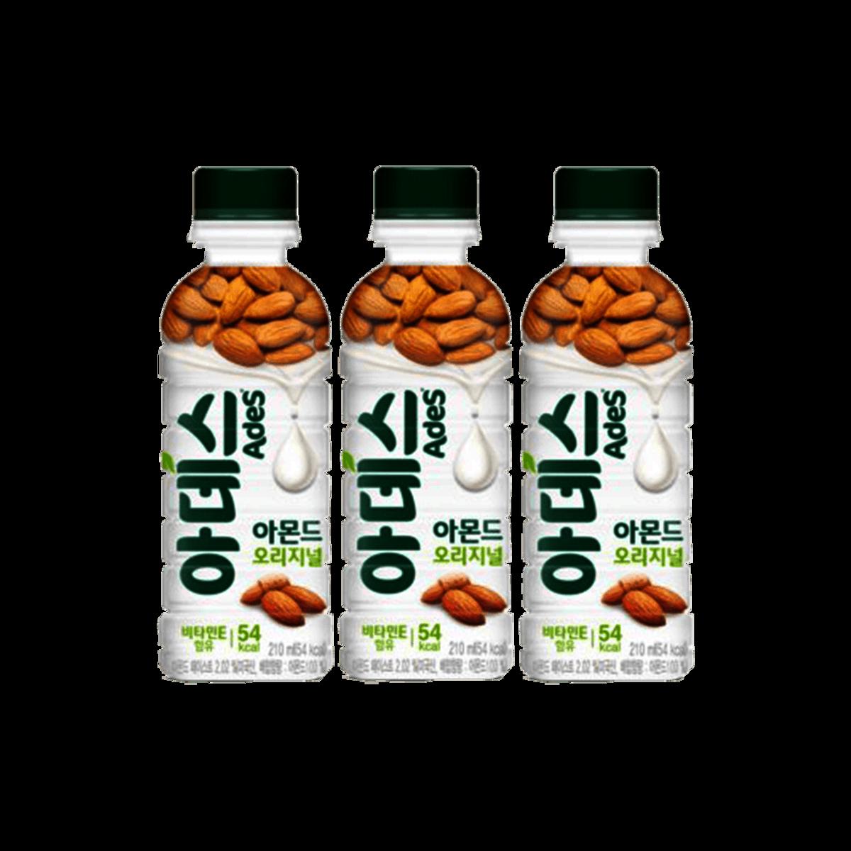 Ades almond milk drink 210ml x 3