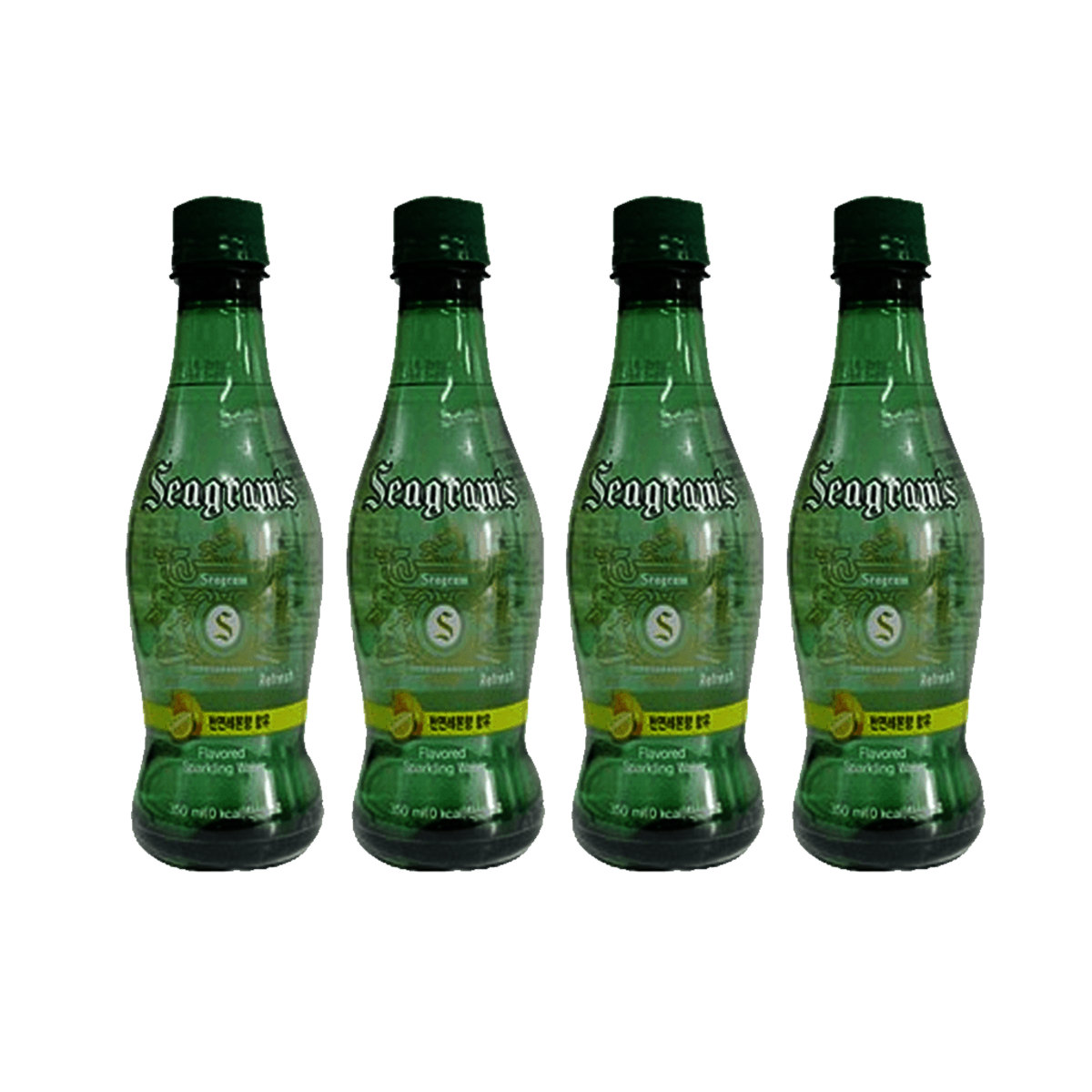 Seagram's bubble water Lemon flavor 350ml x 4