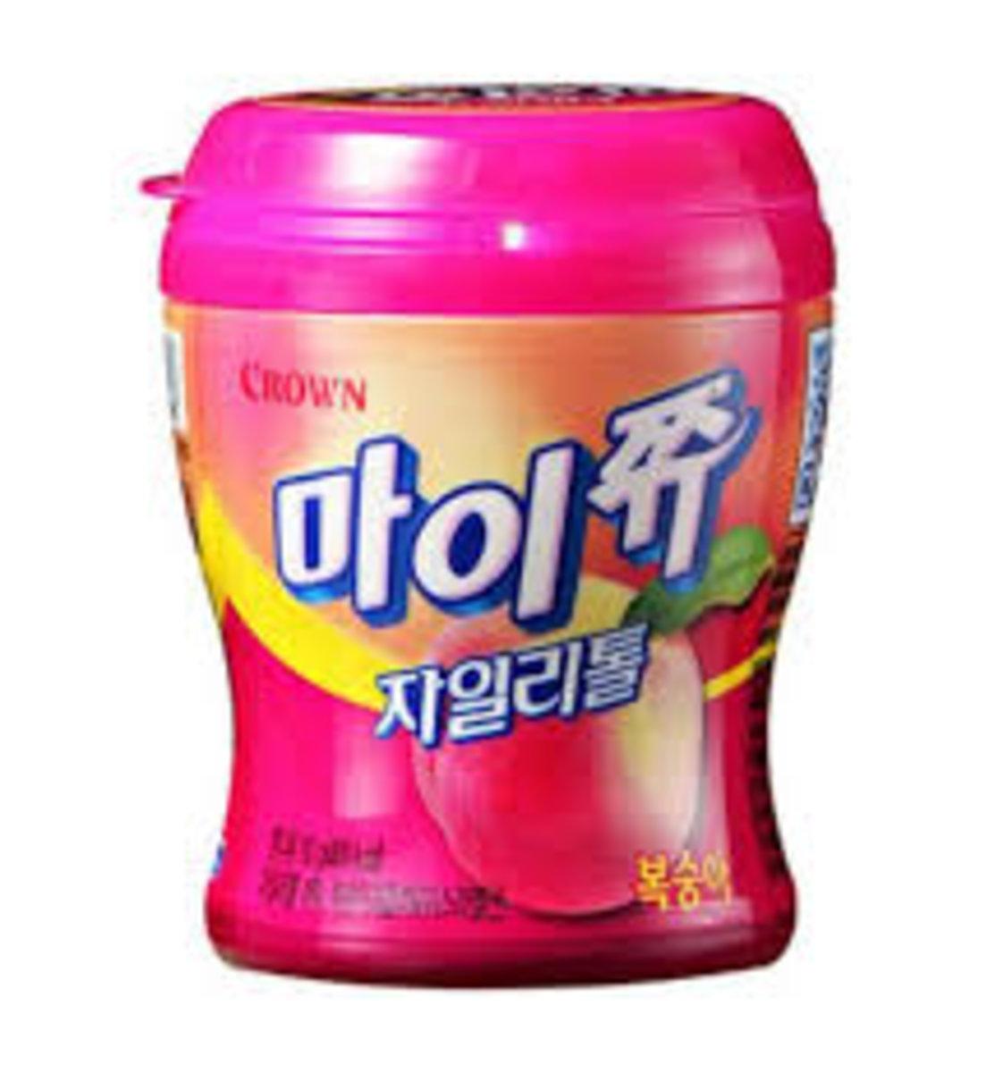 奥水蜜桃味夾心軟糖 110g